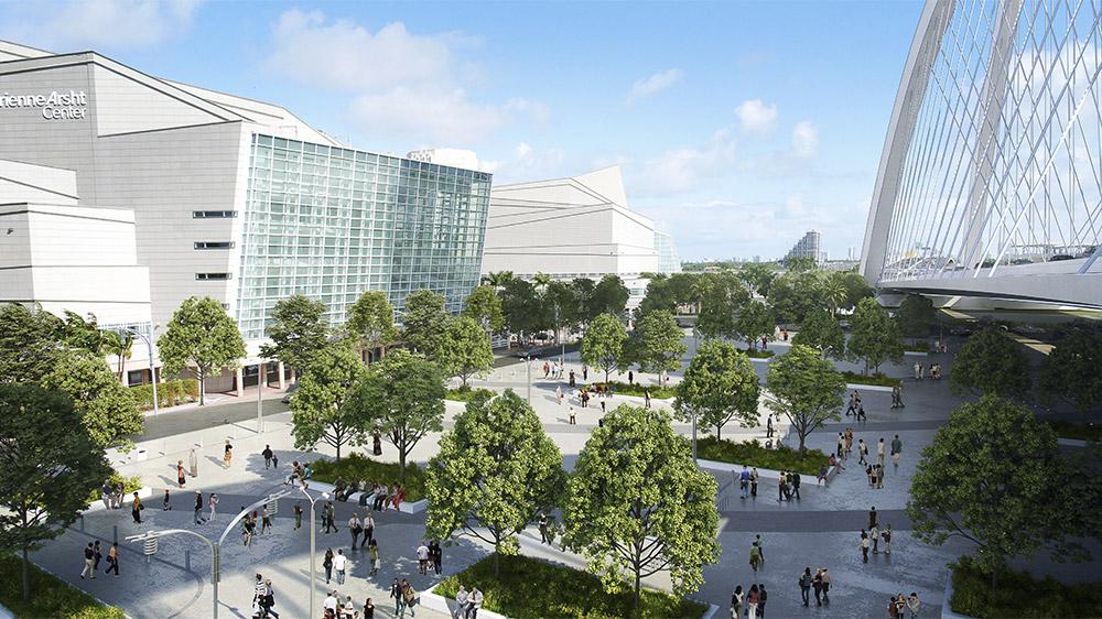 Multipurpose plaza